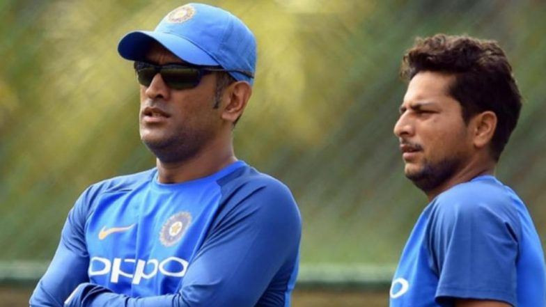 Kuldeep Yadav Slams Reports Regarding MS Dhoni's Tips, Says, 'It's False News'