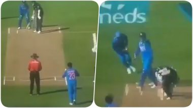 MS Dhoni Helps Kuldeep Yadav to Dismiss Trent Boult During Ind vs NZ 1st ODI 2019; Heard Saying, 'Ankh Band Karke Rokega' On Stump Mic (Watch Video)
