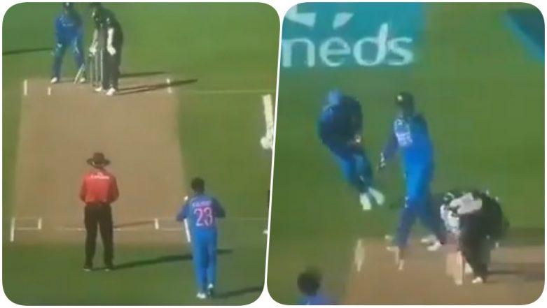 MS Dhoni Helps Kuldeep Yadav to Dismiss Trent Boult During Ind vs NZ 1st ODI 2019; Heard Saying, 'Ankh Band Karke Rokega' On Stump Mic (Watch Video)