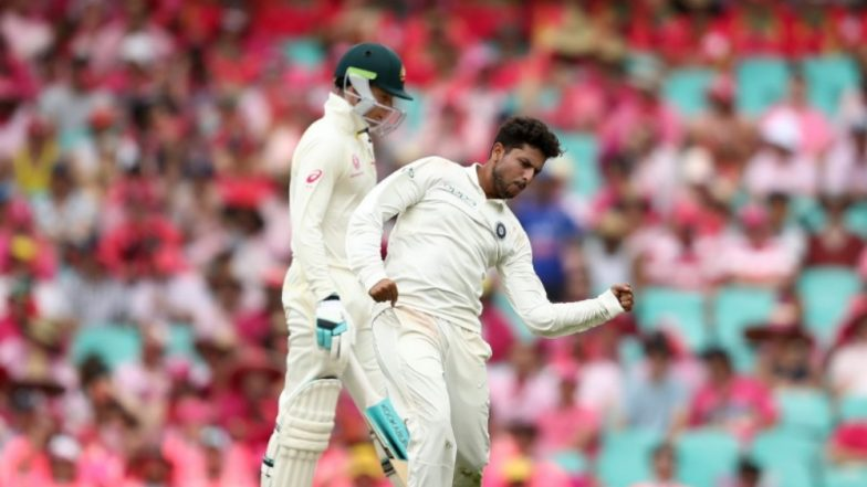 Kuldeep Yadav Gets Maiden Five-Wicket Haul in Australia During Sydney Test; Equals 64-Year-Old Record