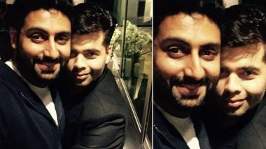 Koffee With Karan 6: Abhishek Bachchan Wishing To See Karan Johar in a Bikini is Definitely the Weirdest Thing We Heard on the Internet Today