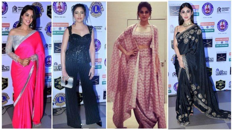 Lions Gold Awards 2019: Dipika, Mouni, Surbhi, Jennifer Slay at the Red Carpet – View Pics