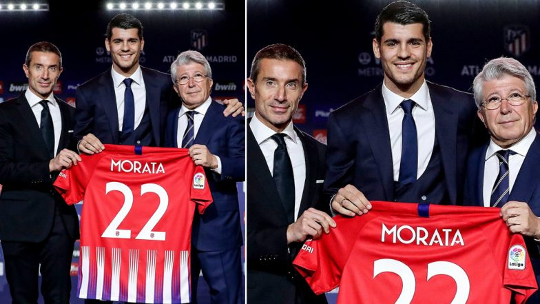 Alvaro Morata Join Atletico Madrid on 18-Month Loan from Chelsea, Says 'Always My Dream to Play For Madrid'