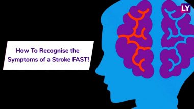 World Stroke Day: How To Recognise Signs of a Stroke FAST!