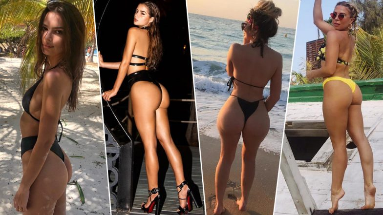 'Wedgie Rise' Has Turned an Uncomfortable Underwear Situation into a Fashionable Instagram Trend By Celebs Like Emily Ratajkowski and Choloe Ferry (View Pics)