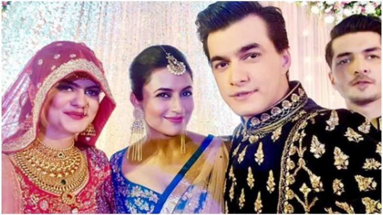 Divyanka Tripathi Has a Heartwarming Wish for Mohsin Khan's Sister Zeba on Her Wedding – View Pic