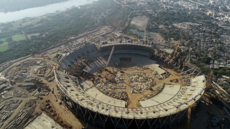 World's Largest Cricket Stadium in Ahmedabad is Under Construction, See Pics