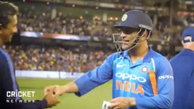 MS Dhoni to Sanjay Bangar: 'Ball Lelo Nahi To Bolega Retirement Le Rahe Hain', Watch Video
