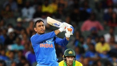 MS Dhoni Seals the Game for India With a Six in Last Over; CSK, BCCI Hail the Finisher on Social Media (Read Tweets)