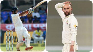 Cheteshwar Pujara Scores a Brilliant Ton During Sydney Test, Nathon Lyon Asks Indian Batsman, 'Aren't You Bored Yet?' (Watch Video)
