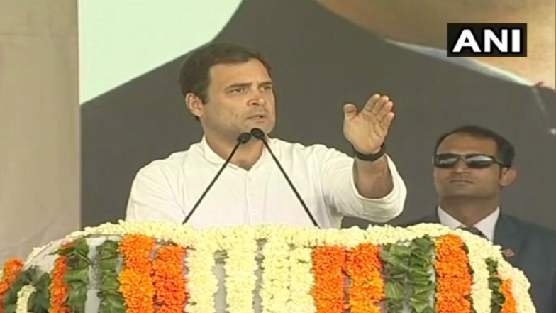 Farmers Showed Narendra Modi Their Strength in Recent State Elections, Says Rahul Gandhi in Jaipur