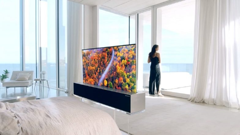 CES 2019: LG Unveils World's First Rollable OLED TV - Report