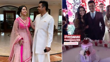 Palak Jain and Tapasvi Mehta's Wedding Rituals Commence; See Chunri Ritual and Cocktail Party Pictures!