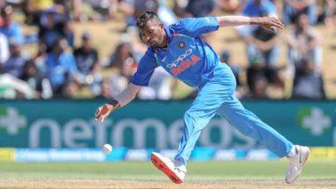 Hardik Pandya Ruled Out of Australia Series Due to Lower Back Stiffness, Ravindra Jadeja to Replace Him in India ODI Squad