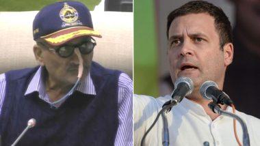 Manohar Parrikar Shifted to AIIMS After Rahul Gandhi's Visit; Goa Congress Sees Conspiracy
