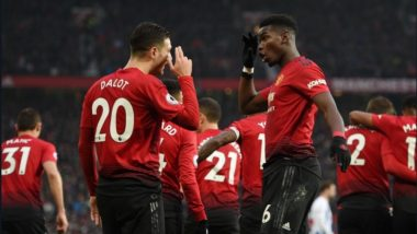 Paul Pogba & Marcus Rashford Guide Manchester United to Victory Against Brighton 2-1 During EPL 2018-19 (Watch Video)