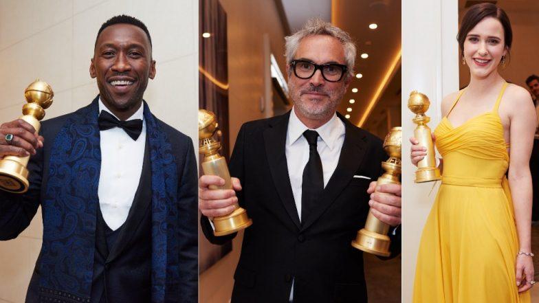 Golden Globe Awards 2019 Complete Winners List: Bohemian Rhapsody, Roma, Christian Bale, Rami Malek, Rachel Brosnahan Win Big!