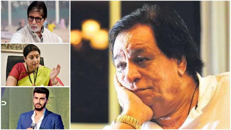 Kader Khan No More! Amitabh Bachchan Smriti Irani Anupam Kher Arjun Kapoor Mourn the Sad Loss of the Veteran Bollywood Legend – Read Tweets