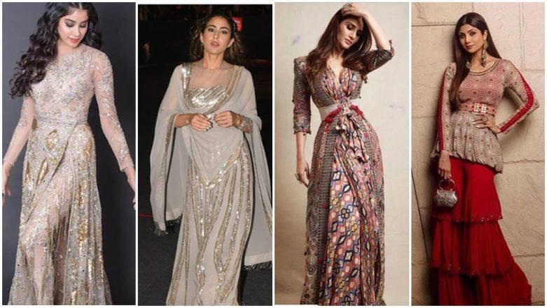 Umang 2019: Sara Ali Khan, Janhvi Kapoor, Vaani Kapoor and Shilpa Shetty Dazzle in Their #OOTN - View Pics