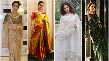 Kangana Ranaut's Style File for Manikarnika Promotions Resonated With Her On-Screen Character - View Pics