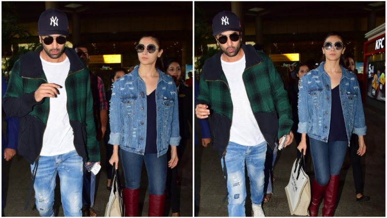 Ranbir Kapoor and Alia Bhatt Return from Their New York Holiday and No, They're Not Twinning at the Airport - View Pics