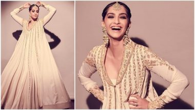 Sonam Kapoor's 'White and Gold' Outfit By Rohit Bal Should Definitely Find a Place in Your Wardrobe - View Pics