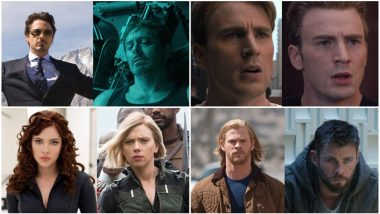 Marvel's #10YearChallenge Is a Nostalgic Treat for All Avengers Fans! View Pics of Iron Man, Captain America, Black Widow and More!