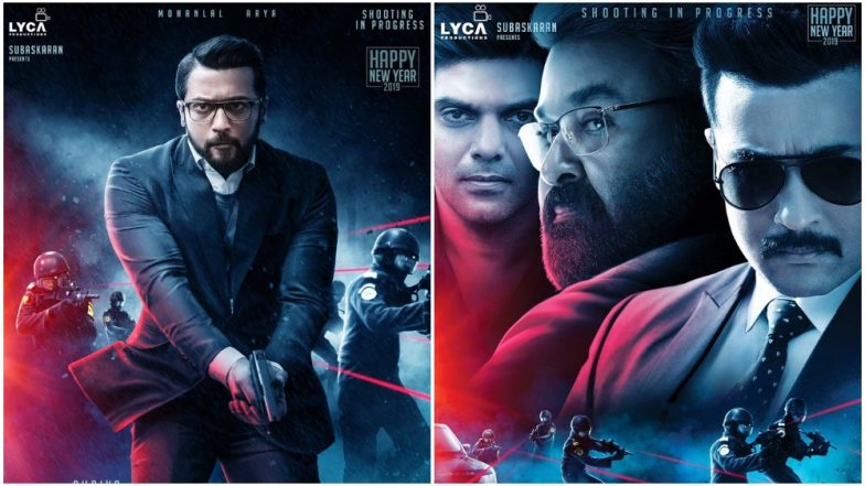 Kaappaan Teaser: Suriya and Mohanlal Starrer Looks Like an Exciting Action-Packed Political Drama