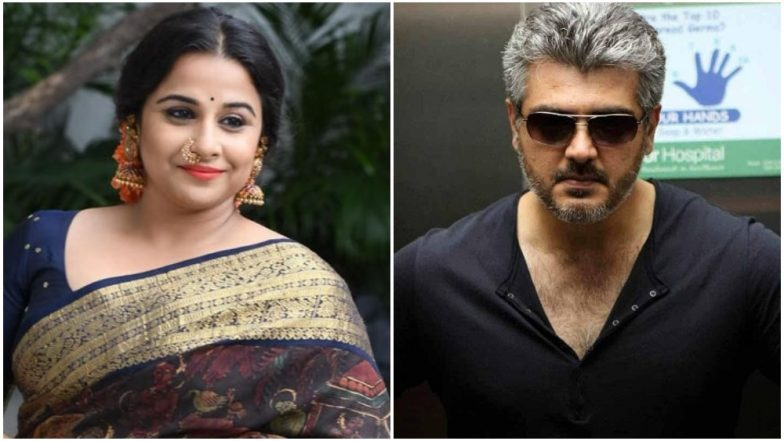 Vidya Balan Comes on Board For Thala Ajith's Tamil Remake of Pink