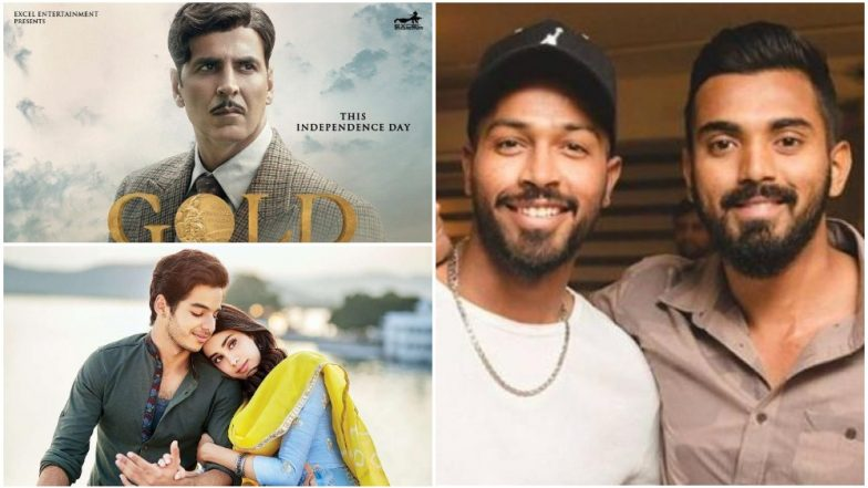 Koffee With Karan 6: KL Rahul Picks Dhadak While Hardik Pandya Chooses Gold as The Most Overrated Film of 2018