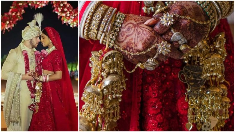 Priyanka Chopra's Wedding 'Kalire' Were Customised As her Trousseau, Each Hanging Had a Meaningful Connotation - Read Details