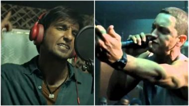 Gully Boy: This Mashup of Eminem's 8 Mile With Ranveer Singh's Trailer Makes Us Amazed About How Similar These Films Are – Watch Video