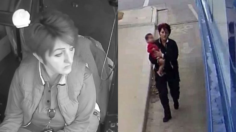 USA  bus driver rescues abandoned toddler wandering on street
