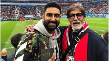 Amitabh Bachchan and Abhishek Bachchan Are Keen on Entering IPL; May Have a Minor Stakeholding in Rajasthan Royals