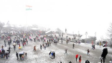 Avalanche Warning Issued In Himachal Pradesh as Icy Winds, Heavy Snowfall Throw Life Out of Gear