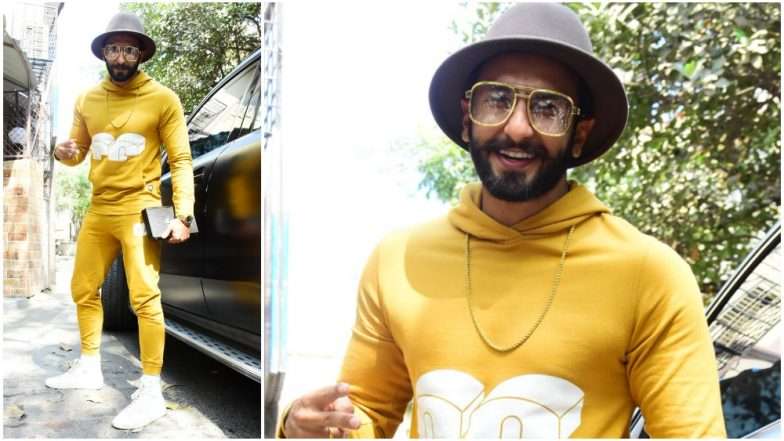 Yellow Yellow Handsome Fellow! Ranveer Singh's Recent Outfit Get a Big Thumbs Up From Us - View Pics