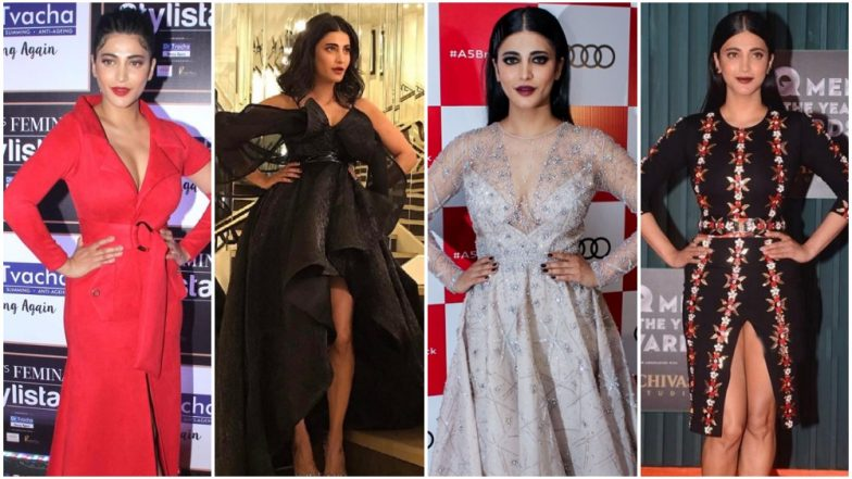 Shruti Haasan Birthday Special: The Actress Deserves a Round of Applause For Being an Unconventional Dresser - View Pics
