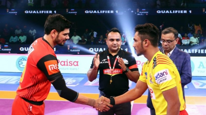 Bengaluru Bulls vs Gujarat Fortunegiants, PKL 2018–19, Finals Match Live Streaming and Telecast Details: When and Where to Watch Pro Kabaddi League Season 6 Match Online on Hotstar and TV?