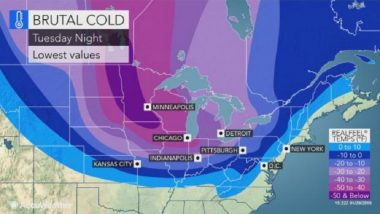 Polar Vortex: U.S. Braces for Extreme Cold Weather, Chicago to be Colder than Antarctica
