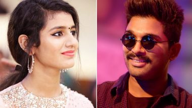 Priya Prakash Varrier Was Offered a Movie with Allu Arjun But....