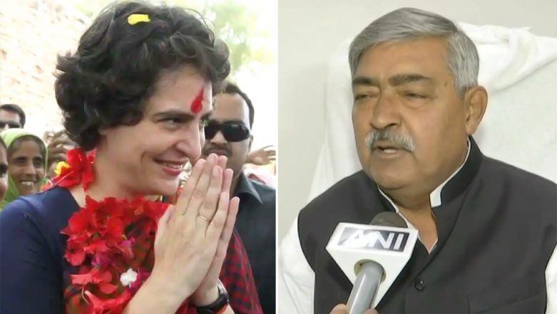 'Priyanka Gandhi Is Beautiful But Holds No Political Achievement': Bihar BJP Minister Vinod Narayan Jha Makes Sexist Remark Against AICC General Secretary