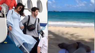 Priyanka Chopra and Nick Jonas are Finally on Their Honeymoon, Take Off to the Caribbean for a Romantic Getaway - View Pics