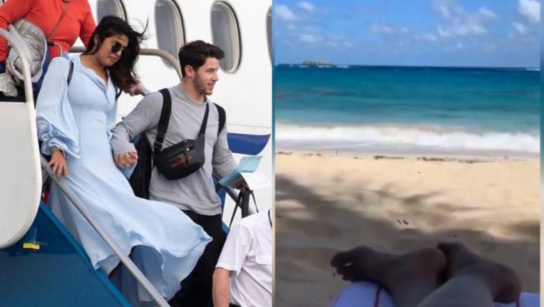 Priyanka Chopra and Nick Jonas are Finally on Their Honeymoon, Take Off to the Caribbean for a Romantic Getaway - View Pics