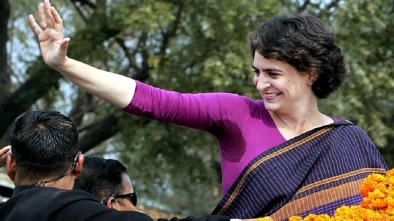 Priyanka Gandhi Garners Over One Lakh Twitter Followers in 12 Hours; A New Superstar on Social Media is Born, Says Shashi Tharoor