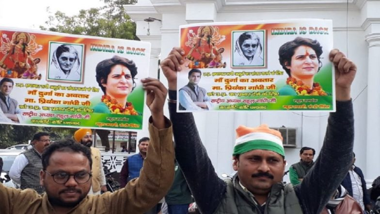 Priyanka Gandhi appointed Congress party general secretary for UP