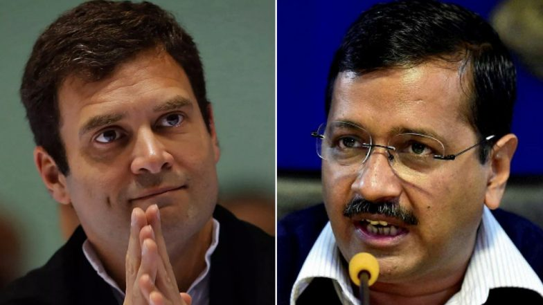 AAP, Congress to Contest 3 Lok Sabha Seats Each in Delhi, Talks on For Seat-Sharing Pact in Rajasthan, Haryana And Punjab: Report