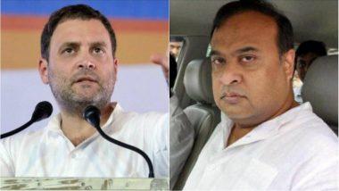 Citizenship Bill Row Triggers Rahul Gandhi vs Himanta Biswa Sarma on Twitter