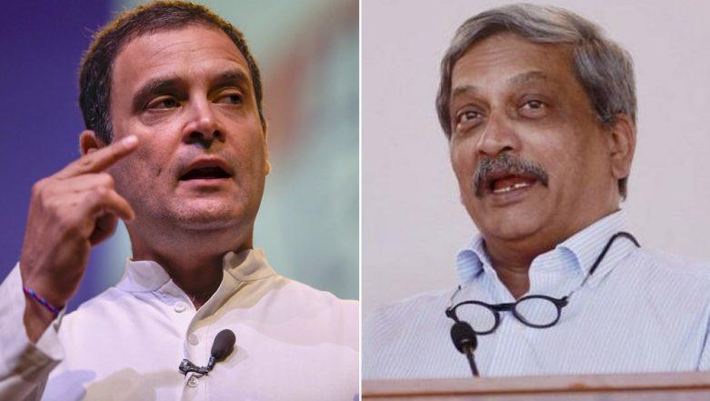Rahul Gandhi Meets Manohar Parrikar in Goa Amid Rafale Deal Row