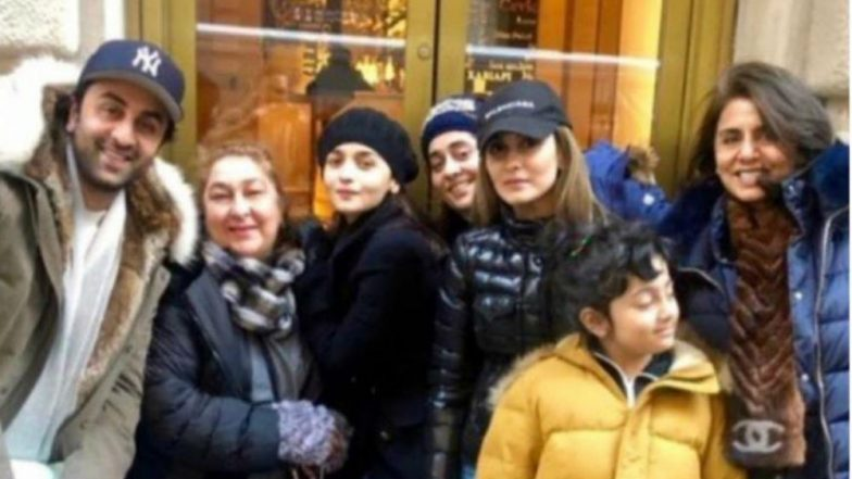 Alia Bhatt is Bonding Big Time With Ranbir Kapoor's Family in NYC - See New Pic