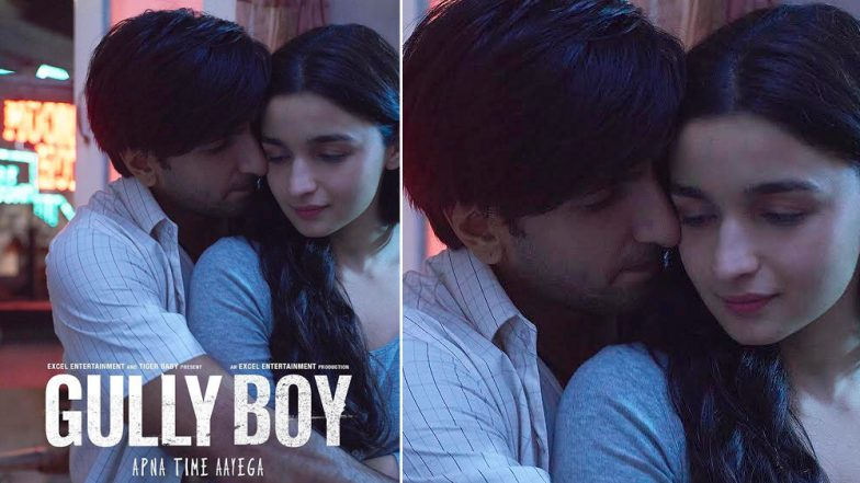 Ranveer Singh and Alia Bhatt's Gully Boy Trailer to Release on January 9, 2019 - See Pic